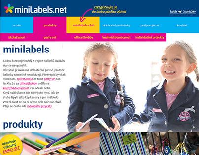 Minilabels Webdesign