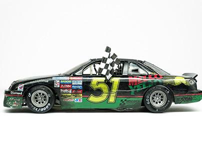 1/18 Scale Mello Yello Stock Car 'Raced' Replica