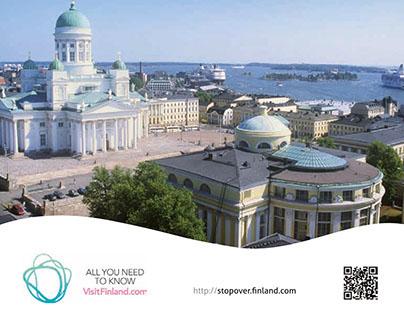 Stopover Helsinki Brochure. 2010 & 2011.