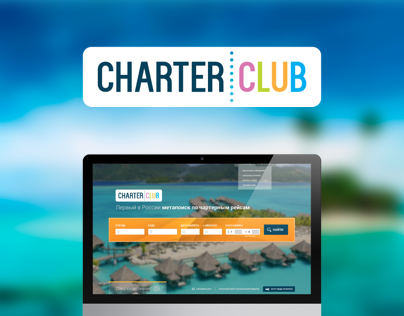 Search airplane tickets with Charter Club