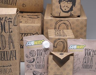Projeto de embalagem: Subway