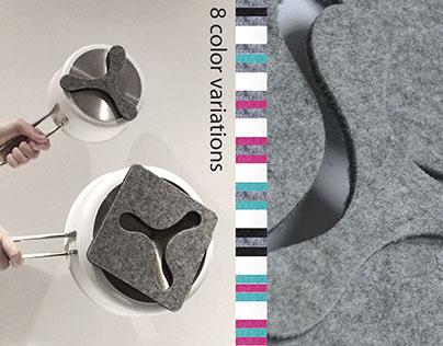 GEKKO Magnetic Trivets/Coasters