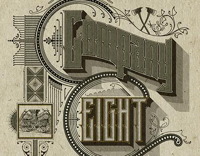 'Company Eight' - Editorial Illustration