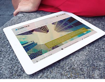 Cortex Elevadores Website