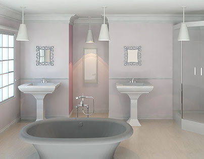 Designing of a Traditional & Modern Bathroom.