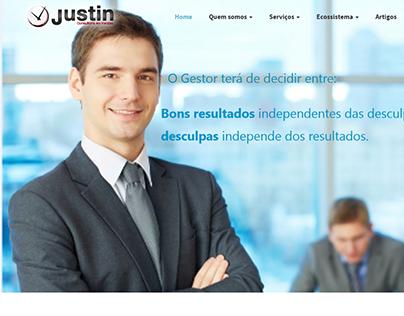 Justin Vendas Website