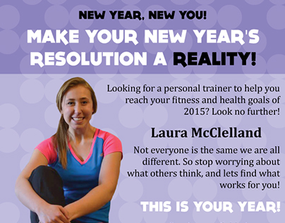 Personal Trainer Advertisement