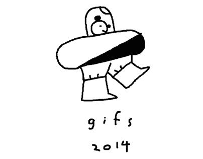 b+w gifs