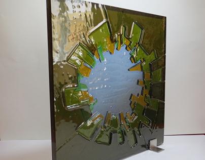 Cam Füzyon İşi / Fused Glass Working
