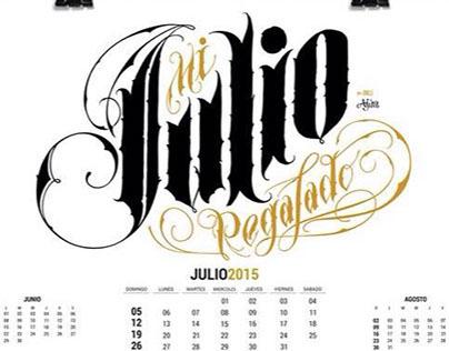 Calendario Ajua 2015