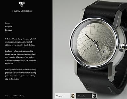 Industrial North Branding + Website