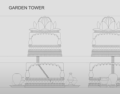 Garden Tower Orthographic