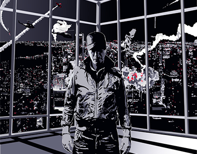 ZATOX // N.W.O ALBUM COVER ILLUSTRATION