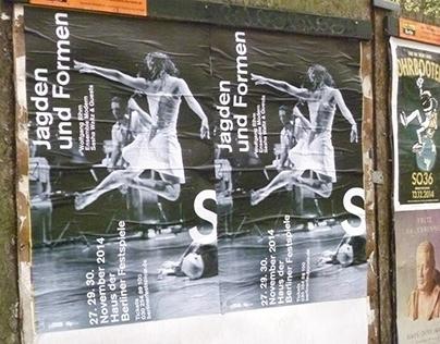 Jagden und Formen–Sasha Waltz Poster