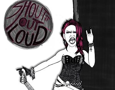 """Shout it out Loud """"Guitarist"""""""
