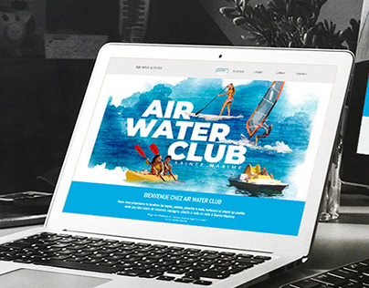 Site web AIR WATER CLUB