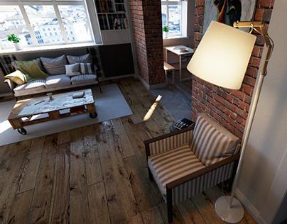 interior project,3D