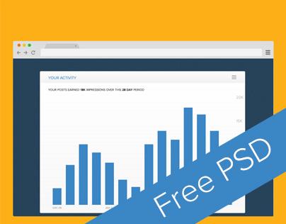 Free Activity Widget (FREE PSD)
