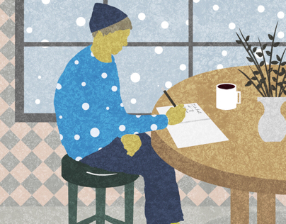 Cafe I (coffee and snow)
