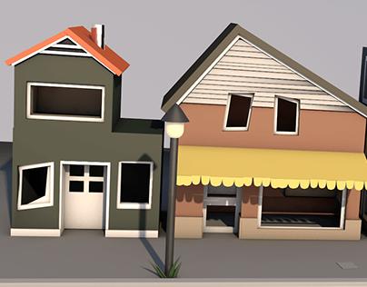 3D Houses
