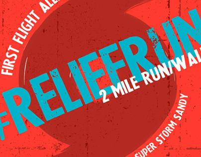 Relief Run Promotional Poster