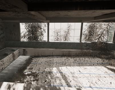 Abandoned pool (Unreal Engine 5)