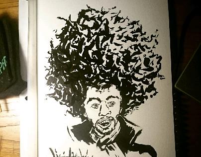 Ink Portraiture Series 1