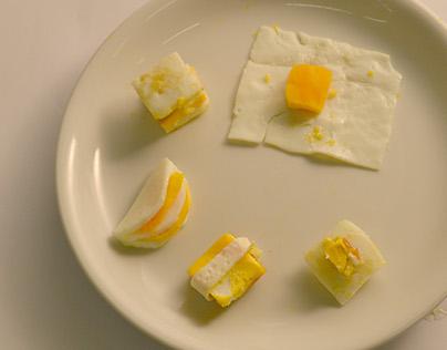 Design culinaire - Expérimentation