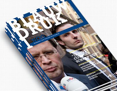 Blauwdruk, Staff magazine Police