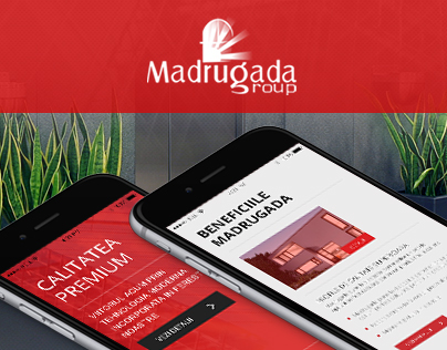 Client: Madrugada Group - Web Design