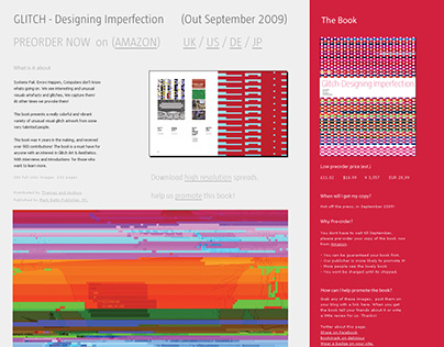 Designing Imperfection Book Site