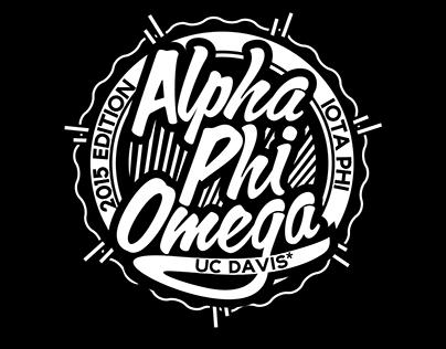 Alpha Phi Omega - Tee, Flyer, Video