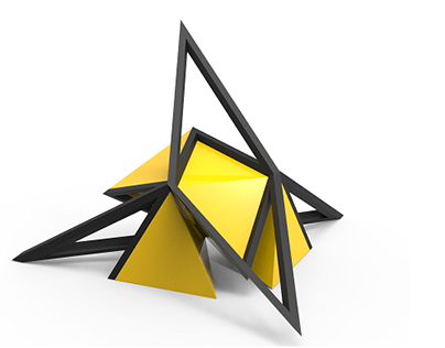 Random triangular morphology