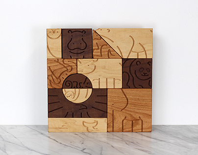 """Aminal"" Blocks by Studio Dunn"