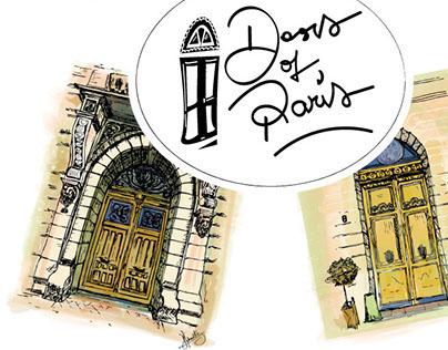Doors of Paris Series