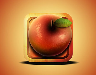 Catching Apples Android Game (Icon)