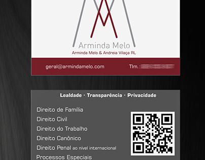 Arminda Melo's Stationery Design
