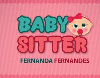 Cartão de Visitas Baby Sitter