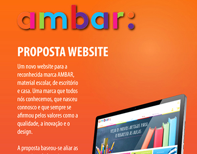 Ambar - Proposta Website