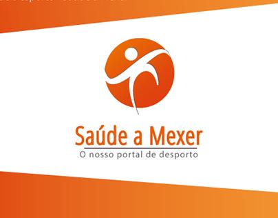 Saúde a Mexer - Logo Design