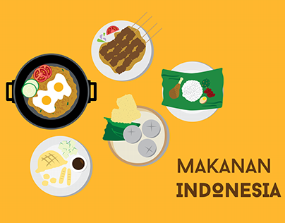 Makanan Photos Videos Logos Illustrations And Branding On Behance