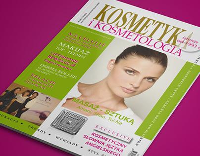 "Magazines designed for ""Kosmetyka i Kosmetologia"""