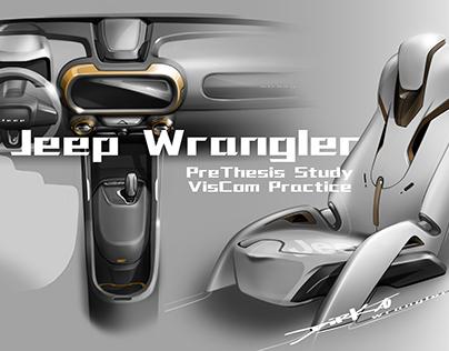 Jeep Wrangler Interior Design