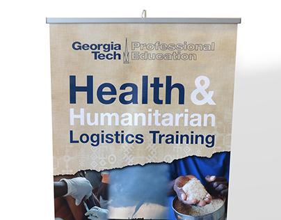 Health and Humanitarian Logistics Banner