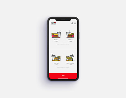 Push for burger App