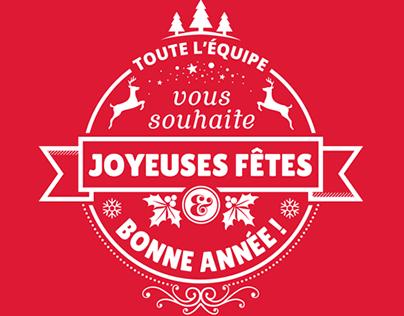 Carte de souhaits 2014-2015 / Holiday Card 2014-2015