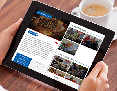 Responsive Website & iPad Application