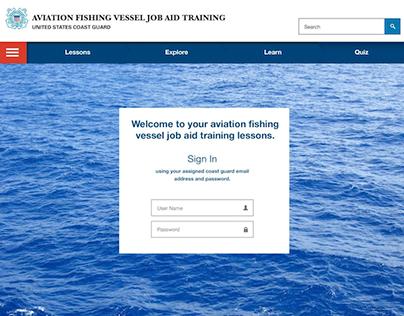 USCG Online Pilot Lesson Plan
