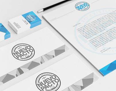 Diseño de Imagen (logo y papelería) para Iglesia Local.