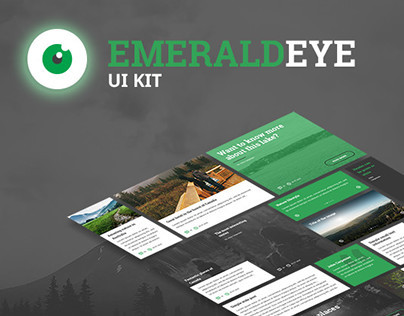 EmeraldEye UI Kit